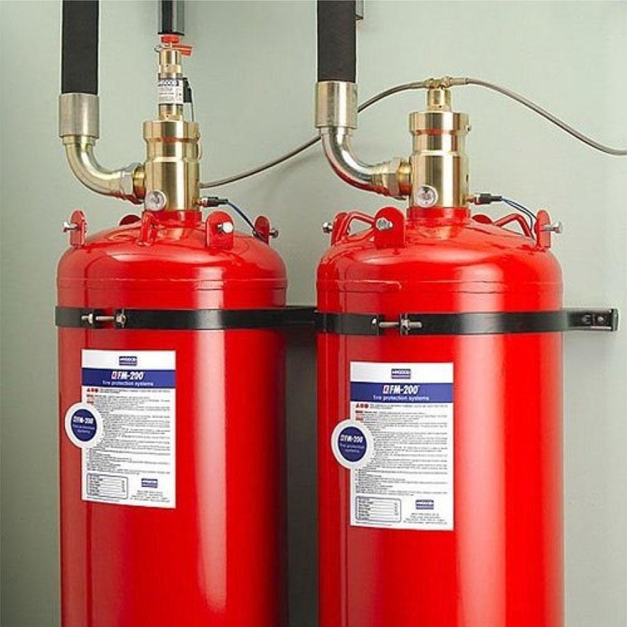 FM200 Yangın Söndürme Sistemi