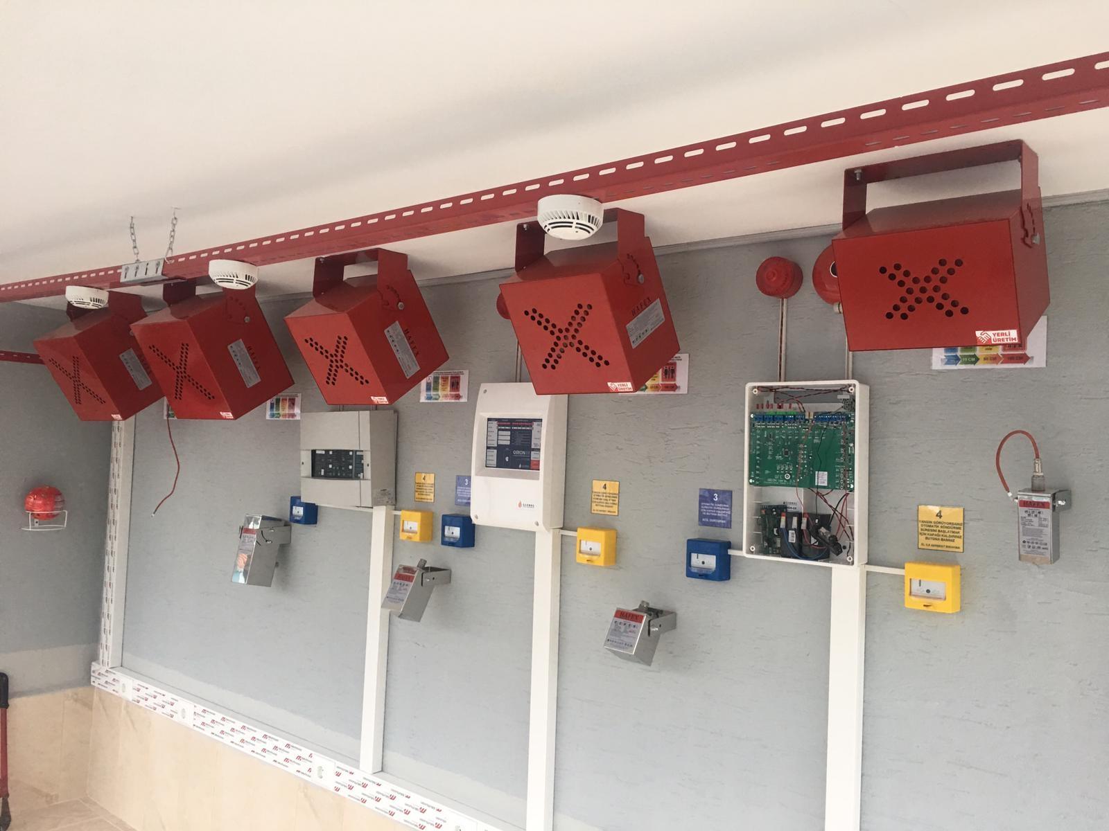 Aerosol Gazlı Yangın Söndürme Sistemi